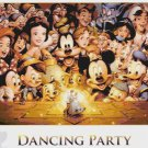 counted cross stitch pattern disney dancing party 441*270 stitches E884