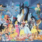 counted cross stitch pattern all characters of disney 496*496 stitches E008