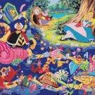 counted cross stitch pattern alice in wonderland chart 441x331 stitches E865