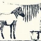Counted Cross Stitch pattern banksy zebra modern art 244*162 stitches E1708