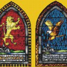 counted Cross Stitch Pattern potter four arms house 467*181 stitches E934