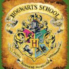 counted Cross Stitch Pattern Hogwarts crest potter 198x252 stitches E925