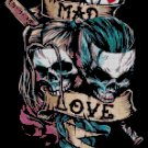 counted cross stitch pattern Joker and Harley Quinn 139*182 stitches E1477