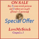 SPECIAL OFFER - BUY - 5 - PATTERNS -> GET - 2 - PATTERNS - FREE (Total = 7 patterns)
