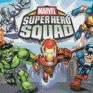 Cross stitch pattern marvel super hero squad 386*255 stitches E878