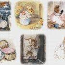 counted cross stitch pattern six scene hucca mucca Potter 331*220 stitches E1151
