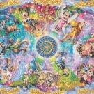 counted Cross stitch pattern disney zodiac themes 495 * 344 stitches E2253