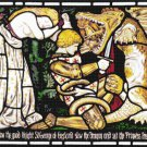 counted cross stitch pattern saint george church stained 358*311 stitches E2137