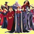 Counted Cross Stitch pattern disney villains 263 * 129 stitches E1721