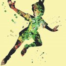 counted cross stitch pattern peter pan watercolor 331 * 237 stitches BN1845