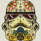 Counted Cross Stitch Pattern Stormtrooper star wars 180*190 stitches E1066/1