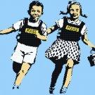 Counted Cross Stitch pattern banksy jack jill street art 275x172 stitches E2356