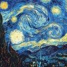 counted Cross Stitch Pattern The starry night Van Gogh 331 x 207 stitches E387