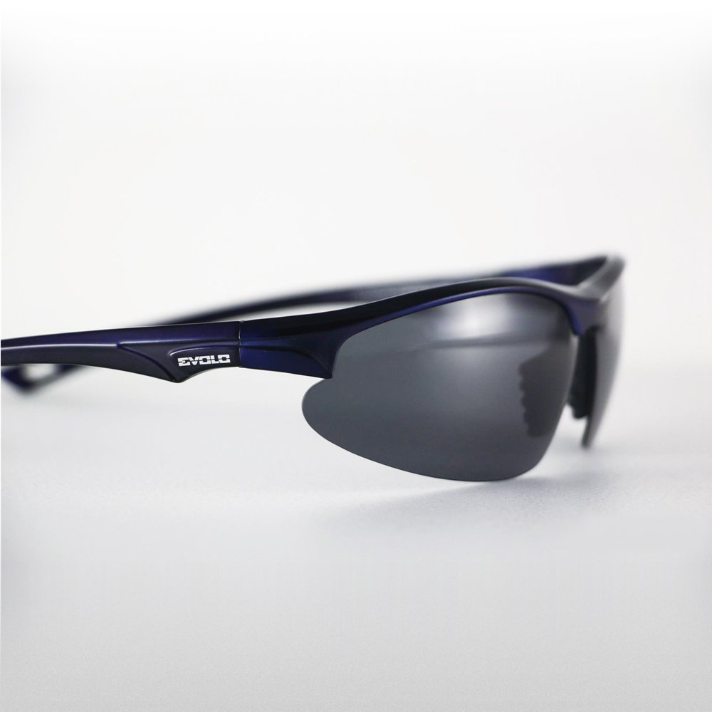 Evolo Carbon Fiber Goggles - Blue