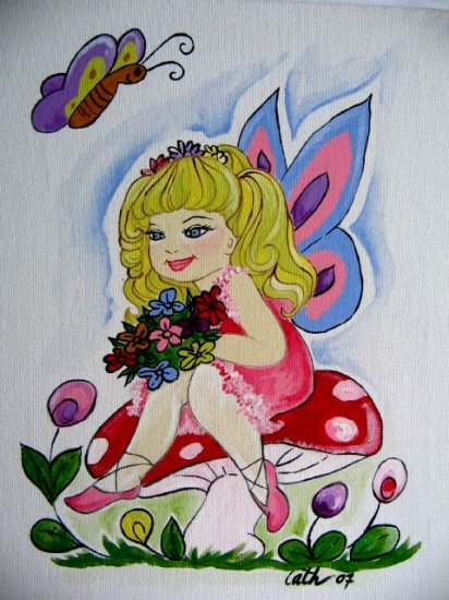 Fairy and Butterfly