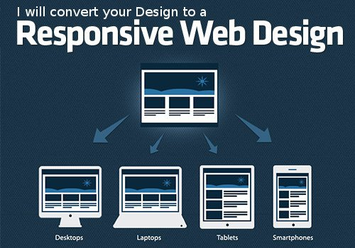 I will convert your website to Mobile Responsive