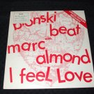 "Bronski Beat w/ Marc Almond - I Feel Love 10"" Rare Mega Mix"