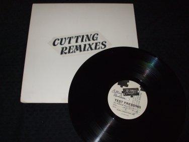 "VARIOUS ARTIST ~ CUTTING RECORDS / CUTTING REMIXES 12"" EP MINT"