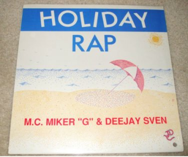 "M.C. Miker ""G"" & Deejay Sven - ""Holiday Rap 12"" SEALED ****NEW"