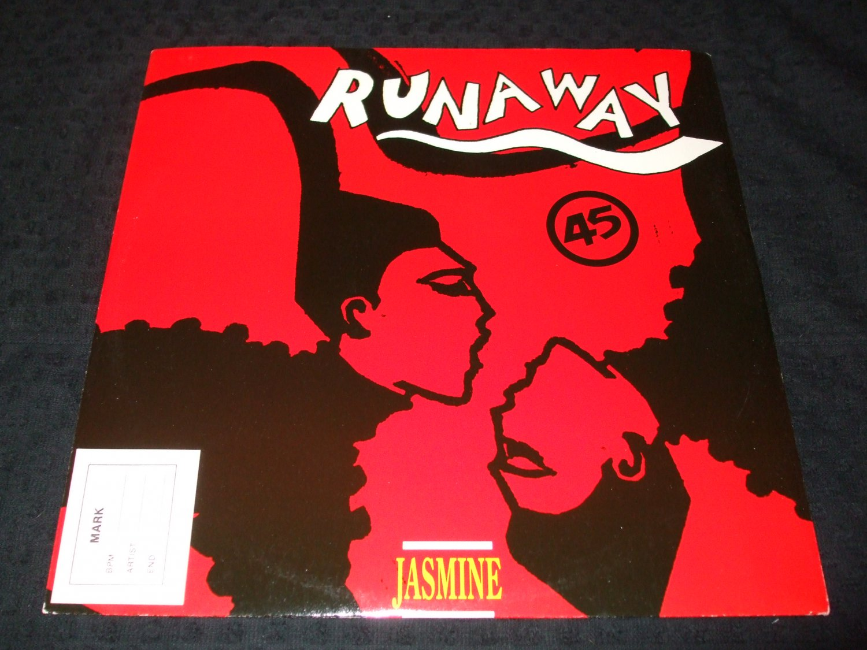 "JASMINE ~RUNAWAY 12"" MINT/RARE"