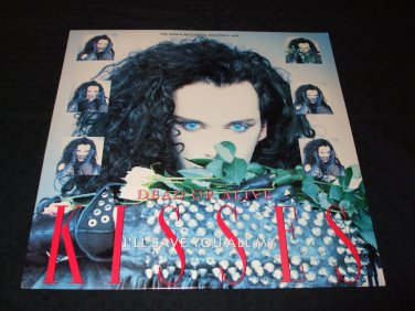 "DEAD OR ALIVE (PETE BURNS) ~ I'LL SAVE YOU ALL MY KISSES 12"" NEVER PLAYED/ MINT (NEW)"