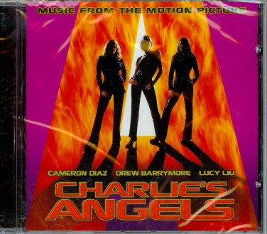 CHARLIE'S ANGELS SOUNDTRACK ~ VARIOUS  MINT/ NEW