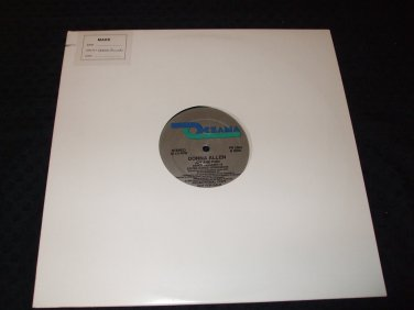 "DONNA ALLEN ~ JOY AND PAIN 12"" PROMO/NEVER PLAYED"