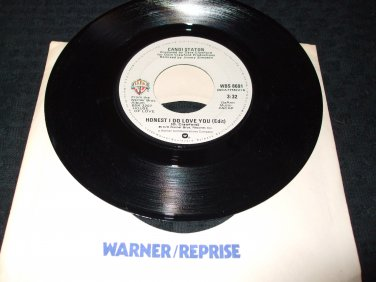 """CANDI STATON ~ HONEST I DO LOVE YOU 7"""" / 45 / VERY RARE/ MINT/ NEVER PLAYED"""