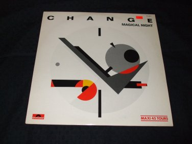 "CHANGE ~ MAGICAL NIGHT 12"" SUPER RARE/MINT"