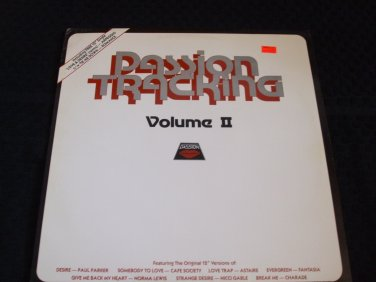PASSION TRACKING VOLUME LP ~ VARIOUS ARTISTS RARE/ MINT/ NEVER PLAYED