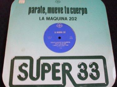 "LA MAQUINA 20 ~ GET UP(ROCK YOUR BODY) 12"" NICE / RARE"