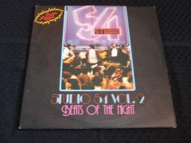 BEATS OF THE NIGHT ~ STUDIO 54 VOL2 / MINT/ SUPER RARE/ VARIOUS ARTISTS