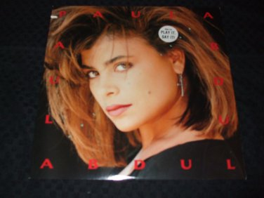 """PAULA ABDUL ~ COLD HEARTED 12"""" MINT/ PROMO/ LIKE NEW/ NEVER PLAYED"""