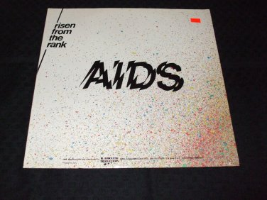 """RISEN FROM THE RANK ~ AIDS 12"""" MINT / LIKE NEW/ NEVER PLAYED / VERY RARE"""