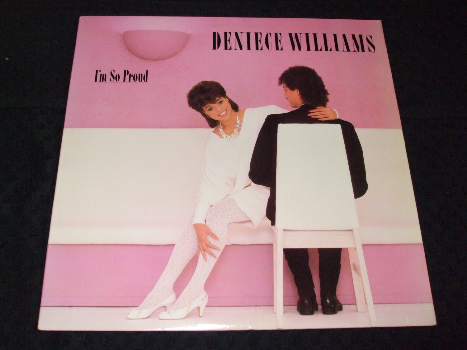 DENIECE WILLIAMS ~ I'M SO PROUD LP / RARE/ LIKE NEW/ NEVER PLAYED/ MINT