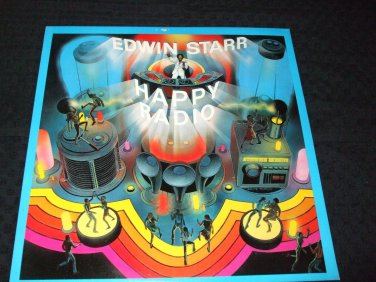 EDWIN STAR ~ H.A.P.P.Y. RADIO LP/ SUPER RARE/ MINT/LIKE NEW / NEVER PLAYED