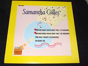 """SAMANTHA GILLES ~ HEAVEN MUST HAVE SENT  YOU  12""""  MINT/ NEVER PLAYED/ RARE"""