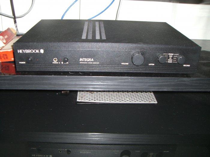 Vintage Heybrook integra integrated amp