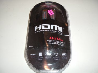 Rocketfish RF-G1160 4 ft HDMI Digital Audio/Video Cable
