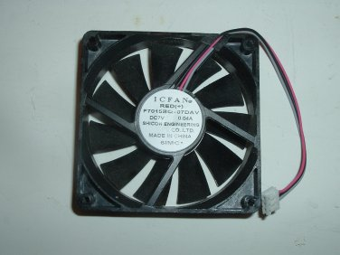 ICFAN F7015BQ-07DAV Cooling Fan DC 7V 0.04A 70x70x15mm