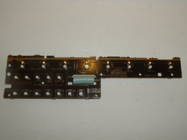 Pioneer Front Key Assembly XWZ3913 for A/V Receiver
