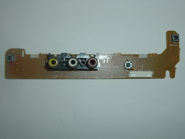 Samsung Button Control Assembly AK41-00549A for DVD/VCR Combo