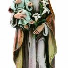 St Joseph and Baby Jesus Catholic Statue Religious Figurine