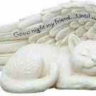 Cat Memorial Angel Wing Marker Until We Meet Again Pet