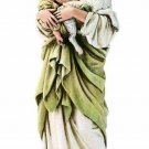 Madonna with Child Lamb Devotional 6 Inch Catholic Figurine