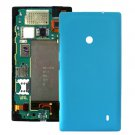 Plastic Back Housing Cover Replacement for Nokia Lumia 520(Blue)