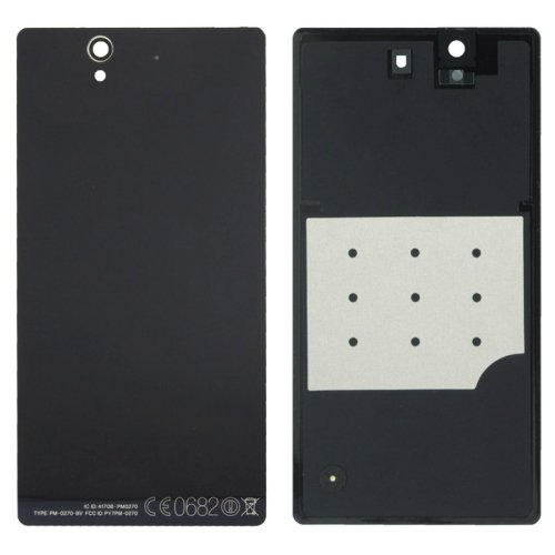 Aluminium Replacement Battery Back Cover for Sony Xperia Z / L36h(Black)