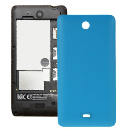 Frosted Surface Plastic Back Housing Cover Replacement for Microsoft Lumia 430(Blue)