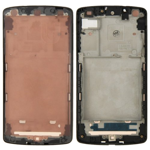 Middle Frame Bezel Replacement for Google Nexus 5 / D820(Black)