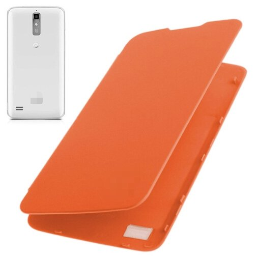 Flip Back Cover / Replacement Leather Case for Huawei Ascend G710 / A199 (Orange)
